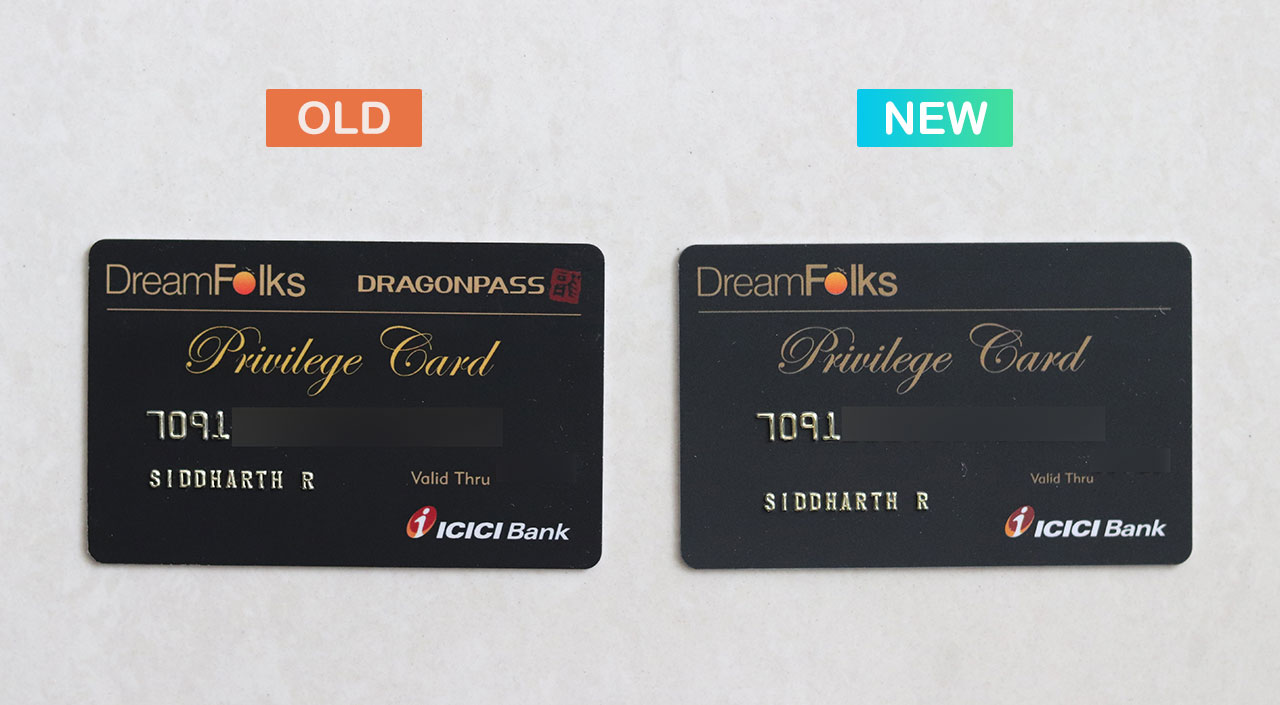 ICICI Dreamfolks Card