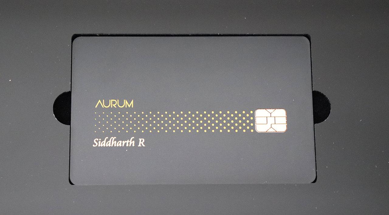 SBICard Aurum - Credit Card