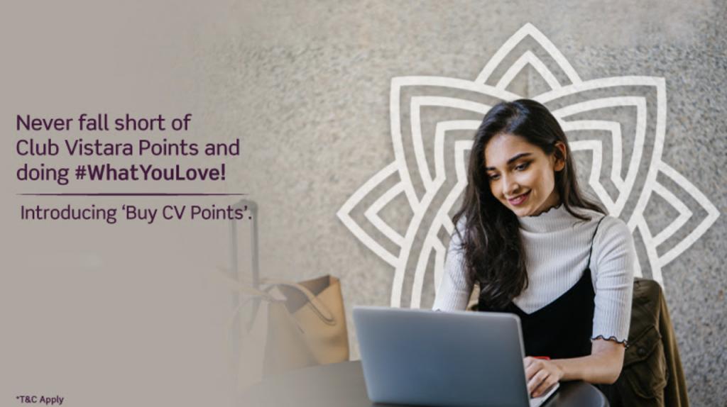 Buying CV Points
