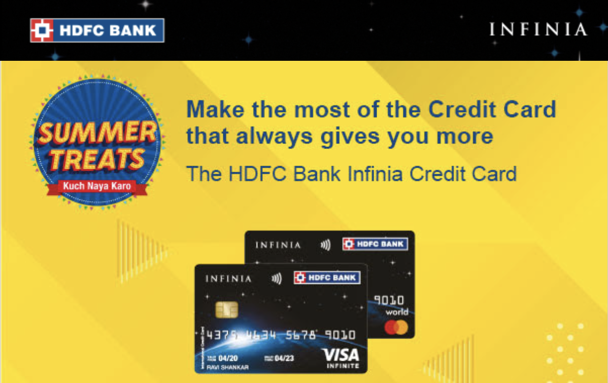 HDFC Credit Card Spend Based Offers – April & May 2021