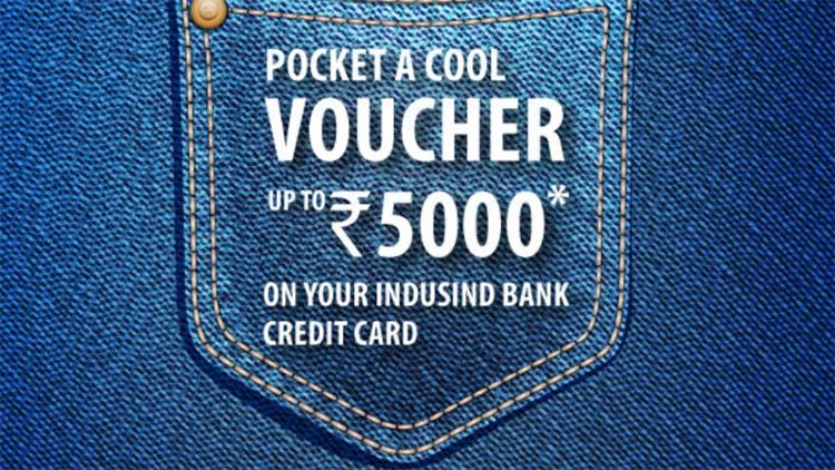 indusind credit card offer - june 2021