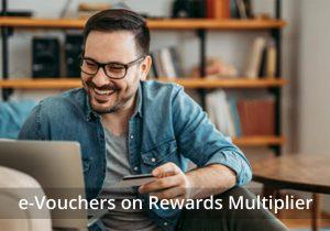 Amex Reward Multiplier: Upto 5X points on e-Vouchers