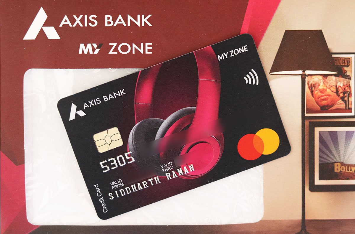 Axis Myzone Credit Card