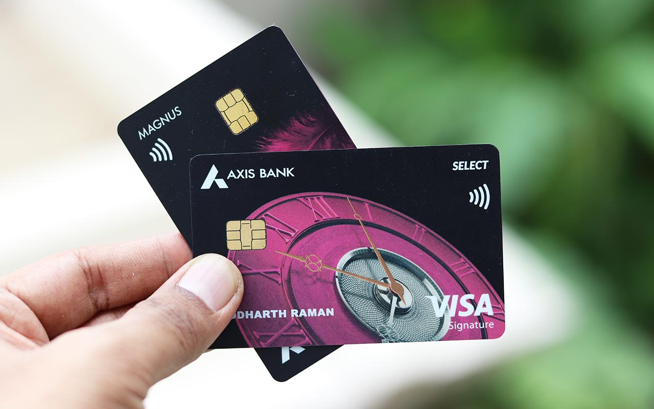 Axis Bank Premium Credit Cards