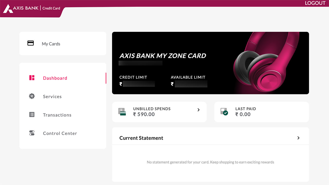 Axis Bank Credit Cards - times design