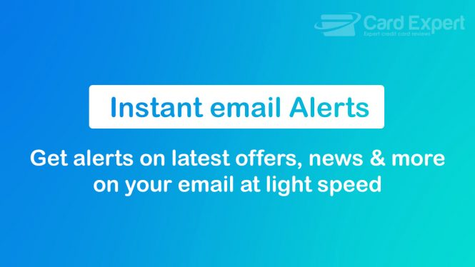cardexpert instant email alerts