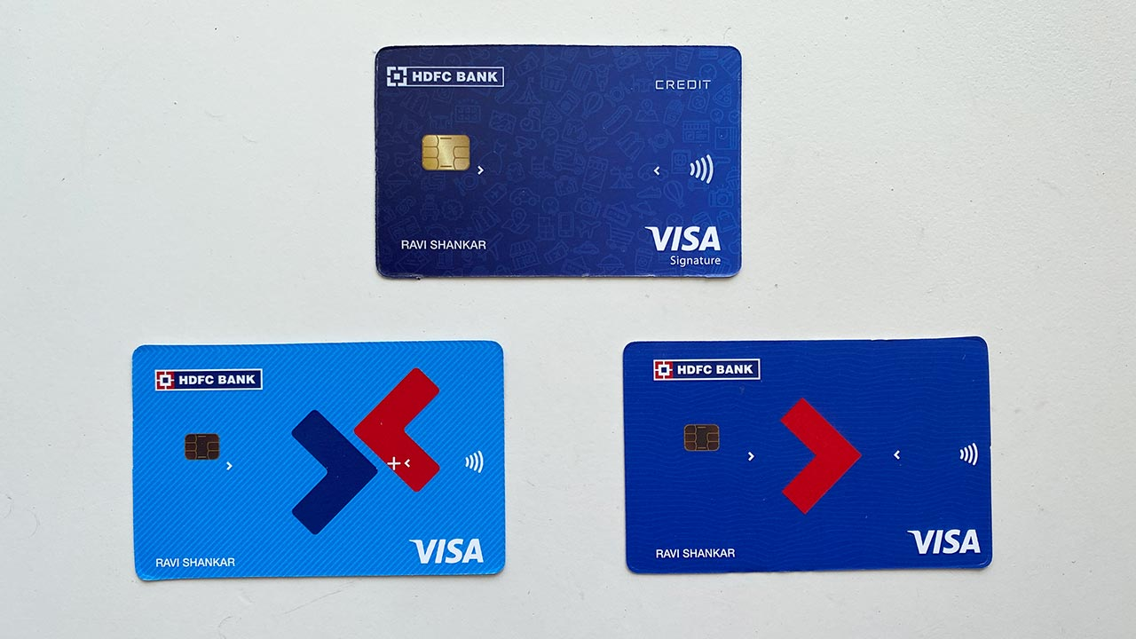 HDFC Millennia, Freedom & Moneyback+ credit cards