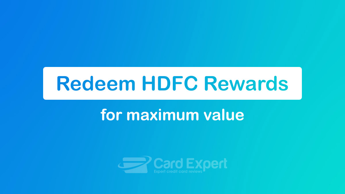 Redeem HDFC Bank Reward Points